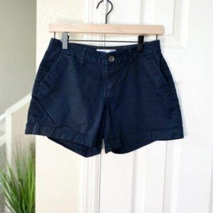 Old Navy Black Chino Shorts Size 0